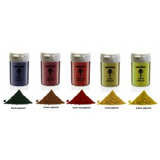 warcolours powder pigments 20g set - 5 pots