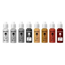 warcolours metallics - basic paint set - 8 bottles