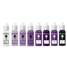 warcolours 'starter' paint sets (layers) - 8 bottles