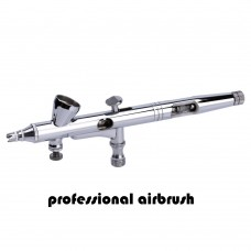 warcolours professional gravity-feed dual-action airbrush