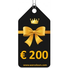 warcolours €200 voucher