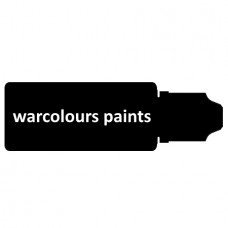 warcolours gel paint (layering)