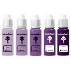 warcolours paint sets (layering) - 5 bottles