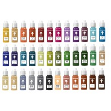warcolours antithesis paint set (wash'n'go) - 36 bottles