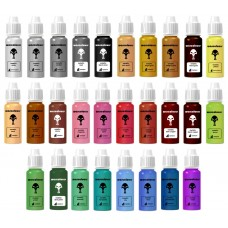 warcolours 'metallics' full paint set  (layering and effects) - 28 bottles