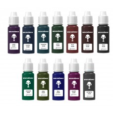 warcolours shade set (shading) - 12 bottles