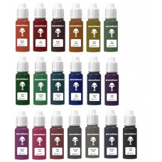 warcolours shade set (shading) - 19 bottles